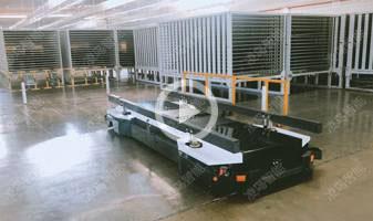 (玲珑轮胎),4T重载背负式AGV搬运方案,自主研发设计潜入举升AGV