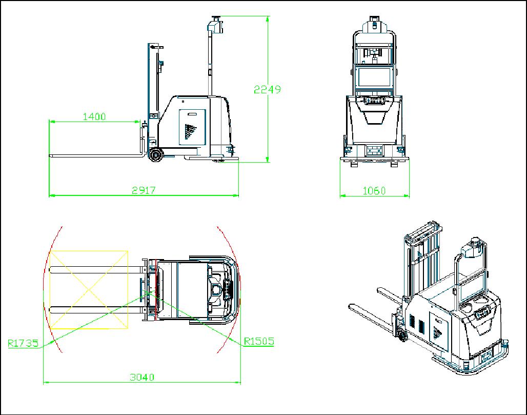 作为凌鸟智能推出AGV系列的自动化智能搬运设备, AGV小车可与车载系统、调度系统、AGV管理系统,仓储管理系统等实现无缝对接,完美的解决了工厂规划、任务调配、自动搬运上下料等任务;