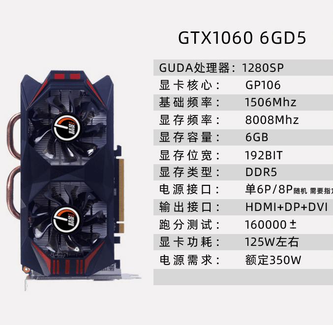 精影GTX1060 6G终极玩家