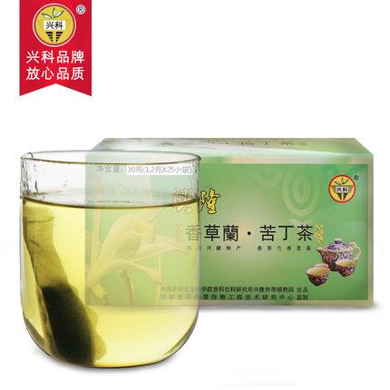 袋泡香草兰苦丁茶30g/盒