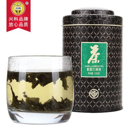 特级香草兰绿茶100g/罐
