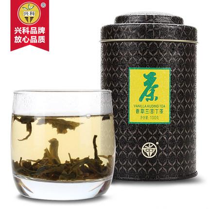 特级香草兰苦丁茶100g/罐