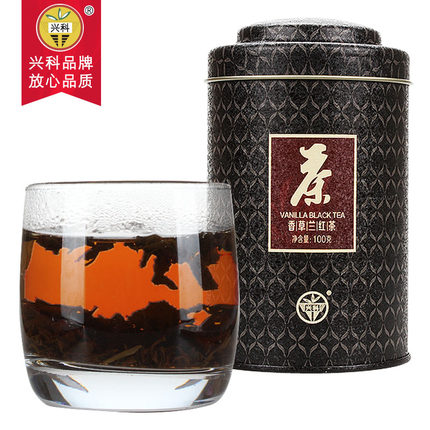 特级香草兰红茶100g/罐
