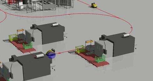 基于反射目标的激光三角测量-凌鸟智能AGV技术讲解