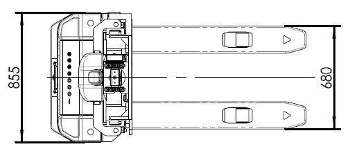 AGV超薄车—LB14 窄巷道堆垛车具体参数适用场景;LB14技术参数表:产品型号LB14 导航方式:激光导航,额定载重:1400kg,载荷中心距:500mm,应用场景:窄巷道低位货架