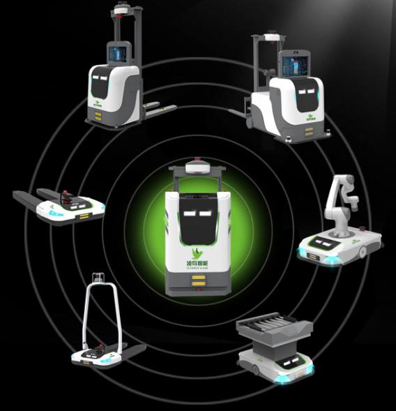 视觉导航是通过AGV小车,AGV,叉车AGV,无人叉车,智能叉车承载视觉传感器获取小车运行区域周围的图像信息来实现导航的方法。