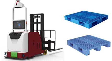 凌鸟平衡重式智能叉车AGV—LD200车体介绍;AGV车体类型:平衡重堆垛式(LD200);AGV导航方式激光导航AGV